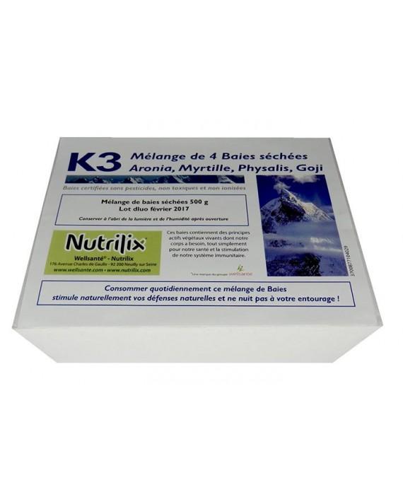 Super Baies santé K3 Anti-âge, Yeux, 500G 30 j