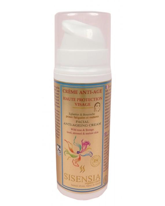 Crème anti-âge haute protection bio 30ml visage