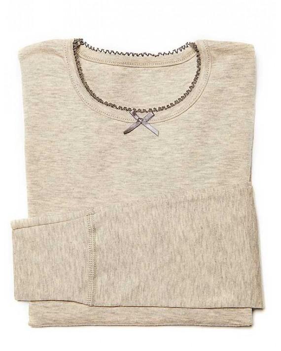 Tee-Shirt Santé Anti-Demangeaisons Manches Longues Fille