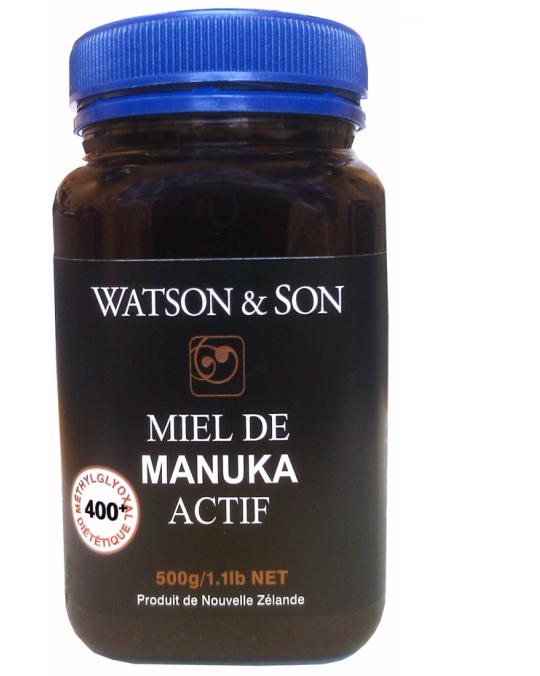 Miel Manuka MG400+  500g