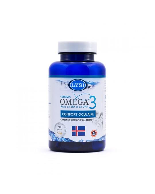 OMEGA 3 CONFORT OCULAIRE 60 GÉLULES