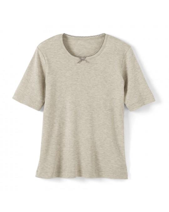 Tee-Shirt Femme Manches Courtes