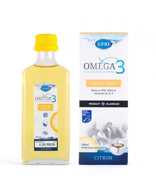 OMEGA 3 CAPITAL SANTÉ 240ml-48 doses